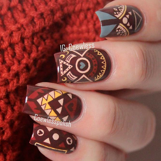 Tribal Nail Art Designs picture 1