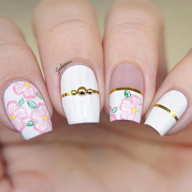 Fancy Nails Designs With Striping Tape picture 2