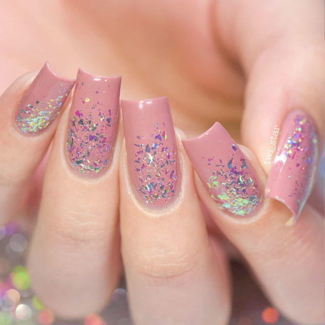 Charming Loose Glitter Nail Art picture 3