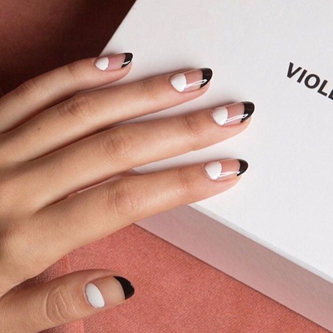 Half Well Nail Tips: Fancy Nails: Best Ideas For Win-Win Manicures