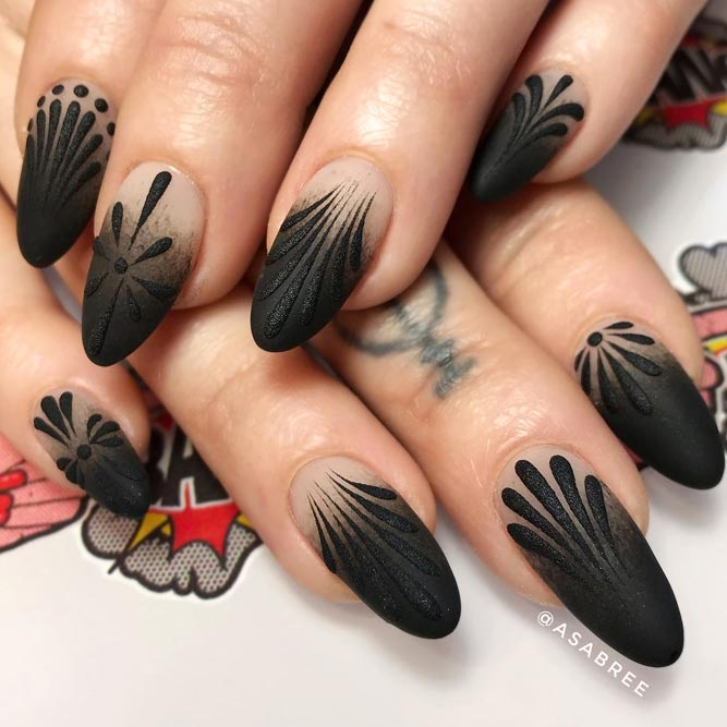 Matte Black Ombre for You Inspiration picture 1