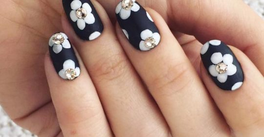 Edgy Ideas for Matte Black Nails to Break the Manicure Monotony