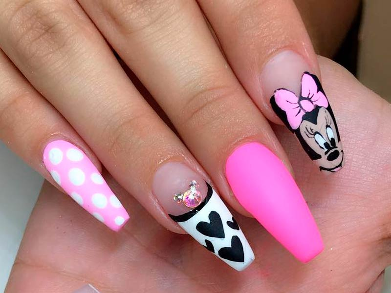 mickey mouse nails ideas to inspire you