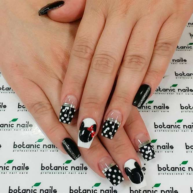 Luxure Nail Designs With Minnie Mouse picture 3