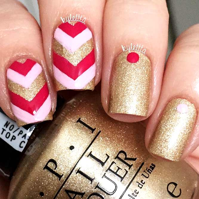 Chevron Nail Designs to Show You Are on the Top picture 3