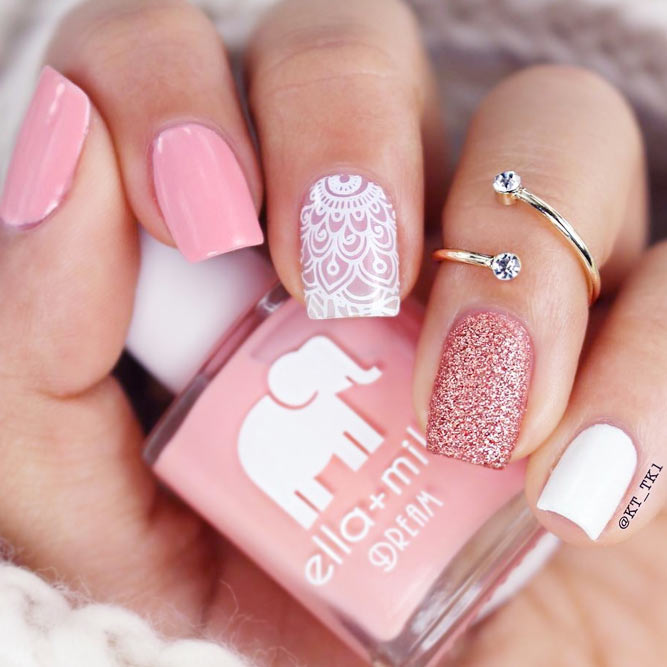 pink nails design - Pink Nails Design - Ideal.vistalist.co