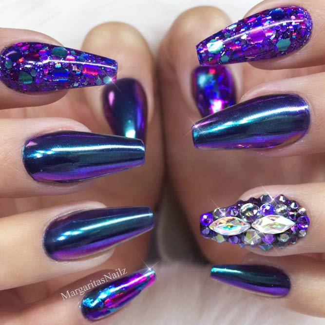 Bold Chrome In Purple Shades picture 2