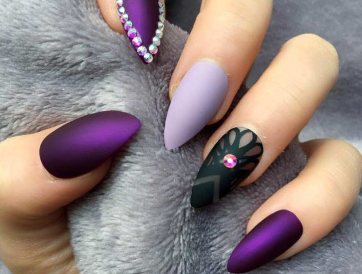 Chosen Ideas Of Purple Nails You Are Bound To See