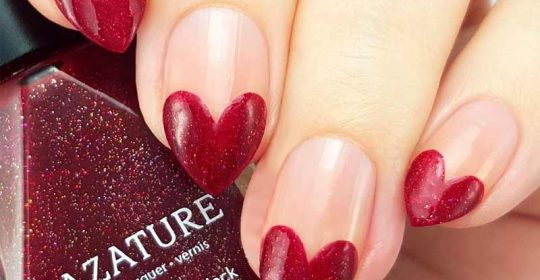 Nail designs and nail art tips tricks naildesignsjournal easy tutorials of hot valentines nails designs prinsesfo Gallery