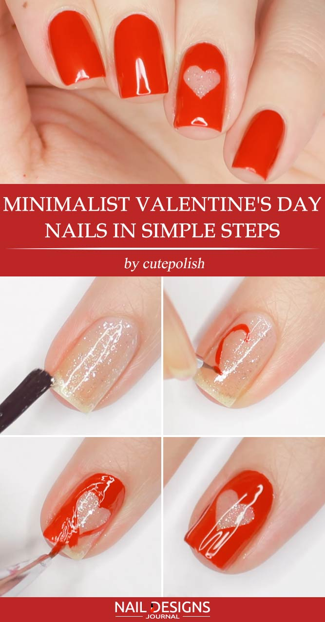 Spicy Ideas For Your Valentines Nails Naildesignsjournal