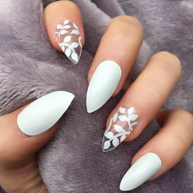 Feminine Negative Space Nail Art picture 1