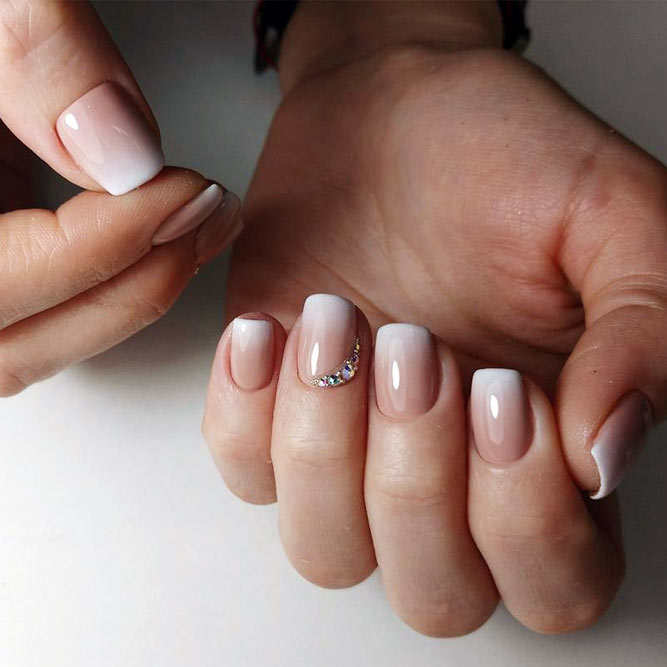 Pastel Cool Nails Color Combos For Brown And White