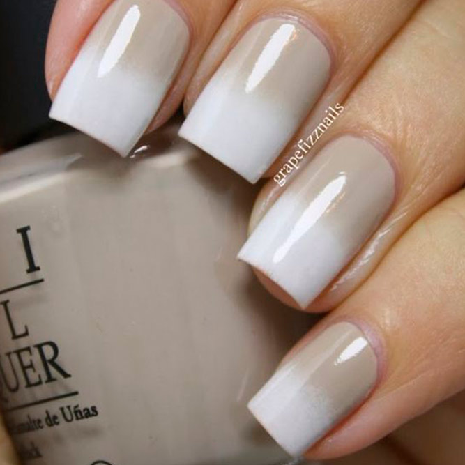 Soft Pastel Cool Nails Color Combos For Brown And White picture 3