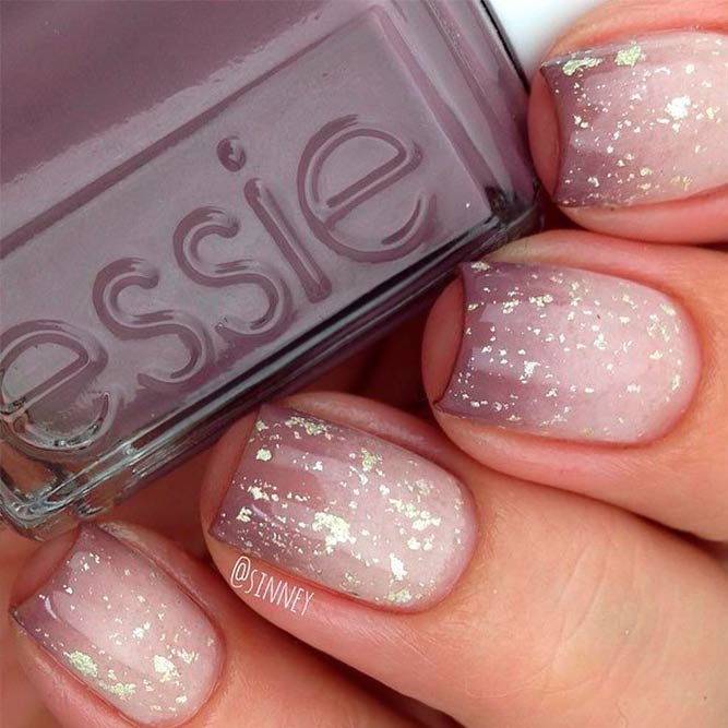 Soft Pastel Cool Nails Color Combos For Brown And White picture 2