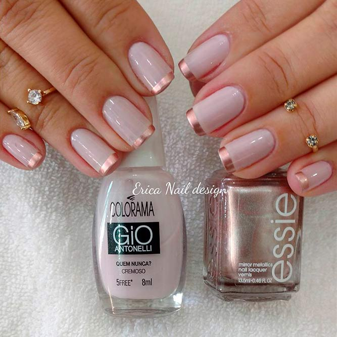 Elegant Rose Gold Nails Ideas To Impress Naildesignsjournal