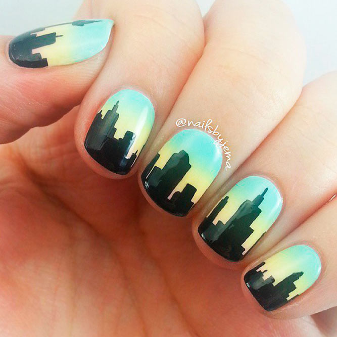 Best Ideas For Skyline Nail Art picture 3