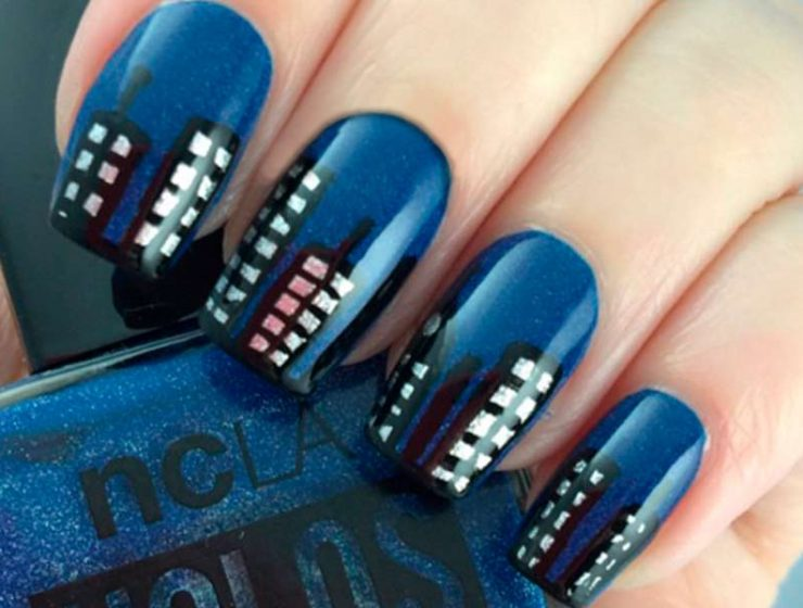 Simple Tutorials of Skyline Nails That You Could not Imagine