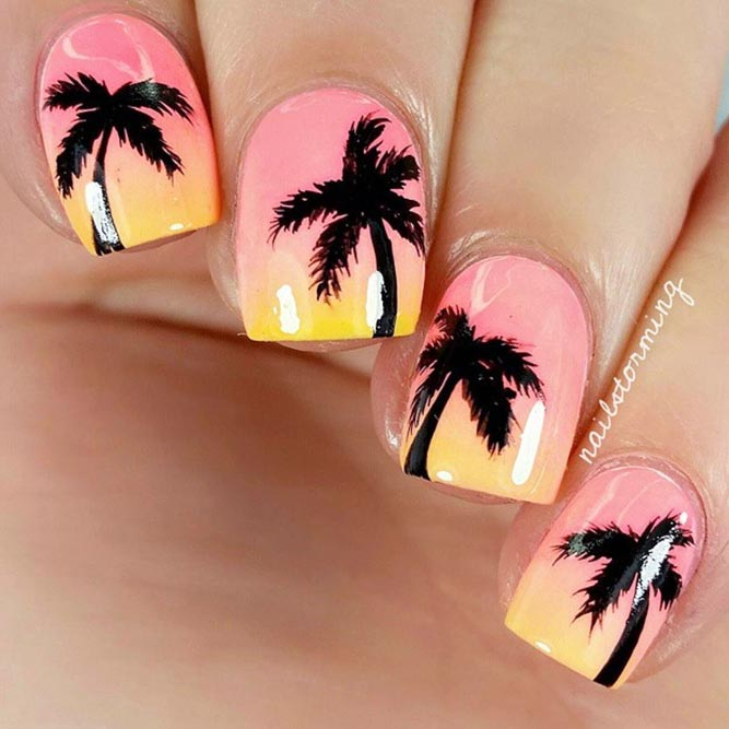 Tropic Palmas Nail Art Designs picture 3