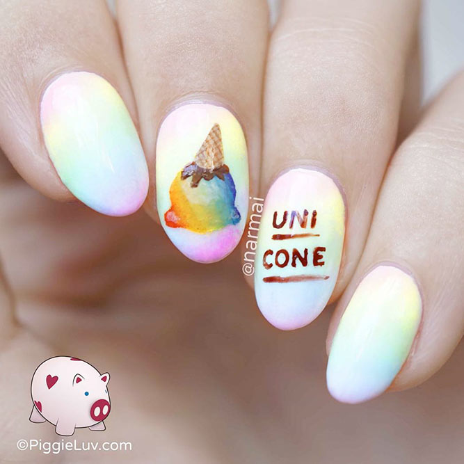 Cute Nail Designs For Spring Break 27 Spicy Nail D...