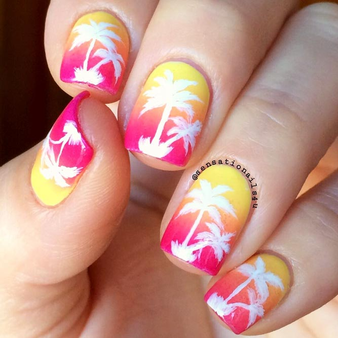 Tropic Palmas Nail Art Designs picture 2