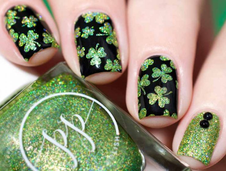 Lucky Nails Designs For St Patricks Day