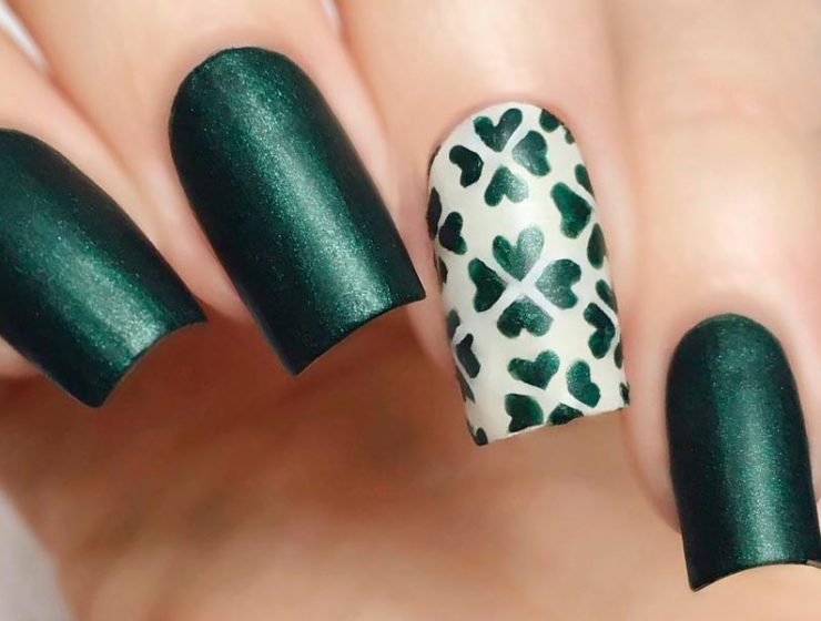 Lucky Nails Designs For St. Patricks Day
