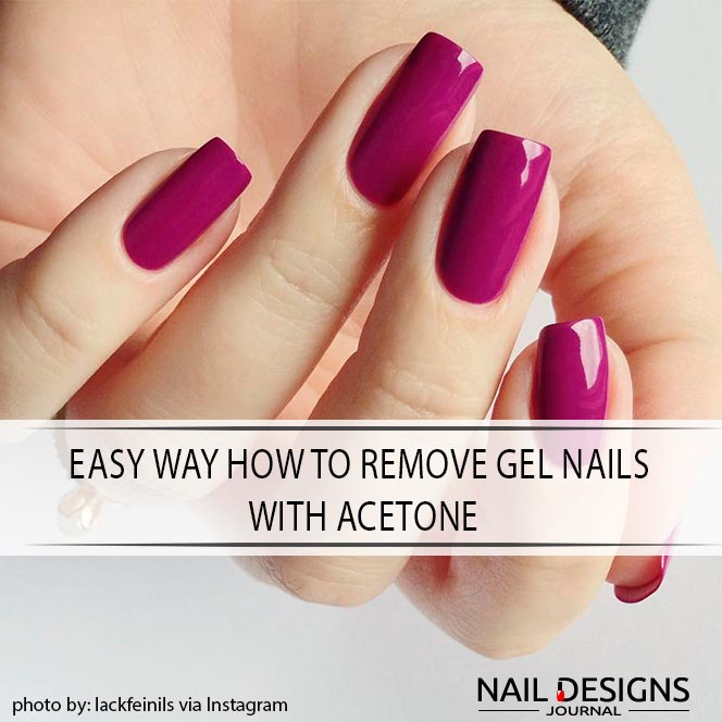 How To Remove Gel Nail Polish Safely
