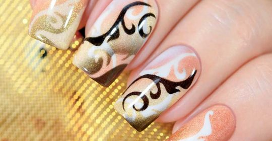 Super Easy Aeropuffing Nail Art Tutorials To Do At Home