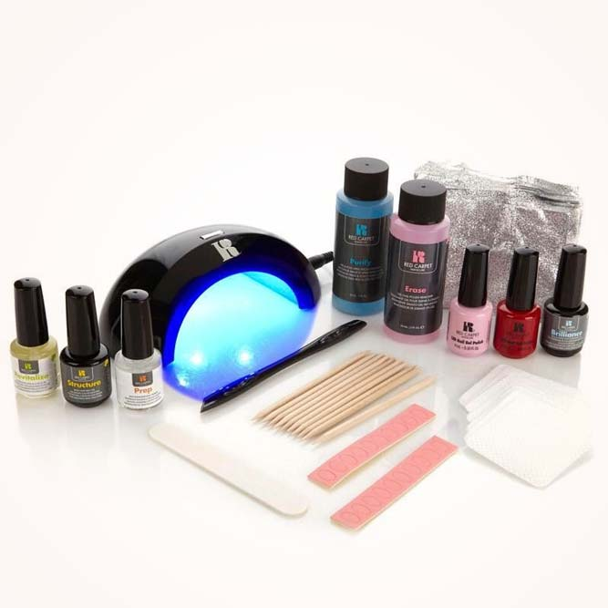 Nail Gel Polish Starter Kit As Birthday Gifts