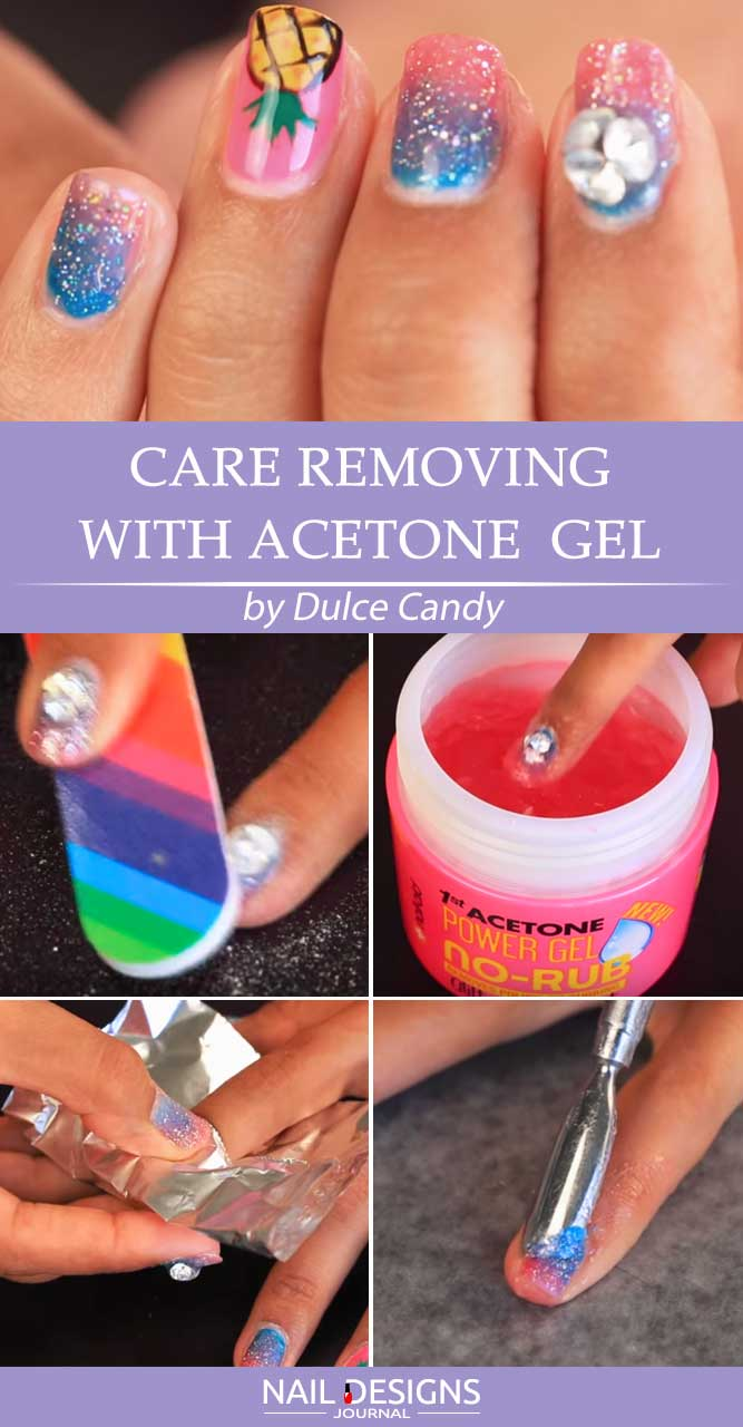 Care Polish Remover Gel