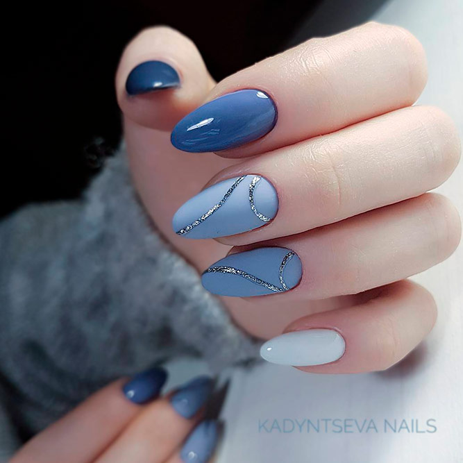 Light Blue Nails Designs picture 2