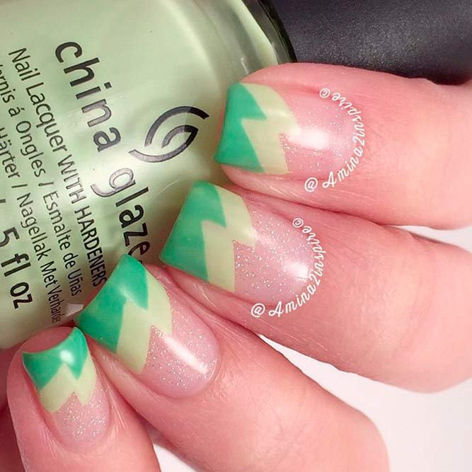 Gentle Green Nail Colors Shades picture 1