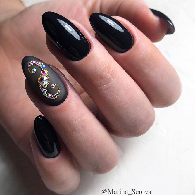 Black Color With Stones - Best Combo