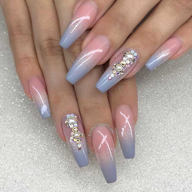 Ombre Design With Stones picture2