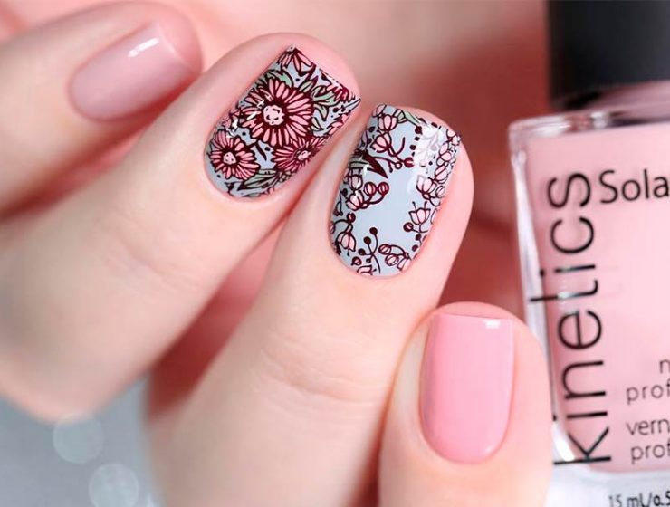 Best Ways Decorate Your Nails With Beautiful Flowers
