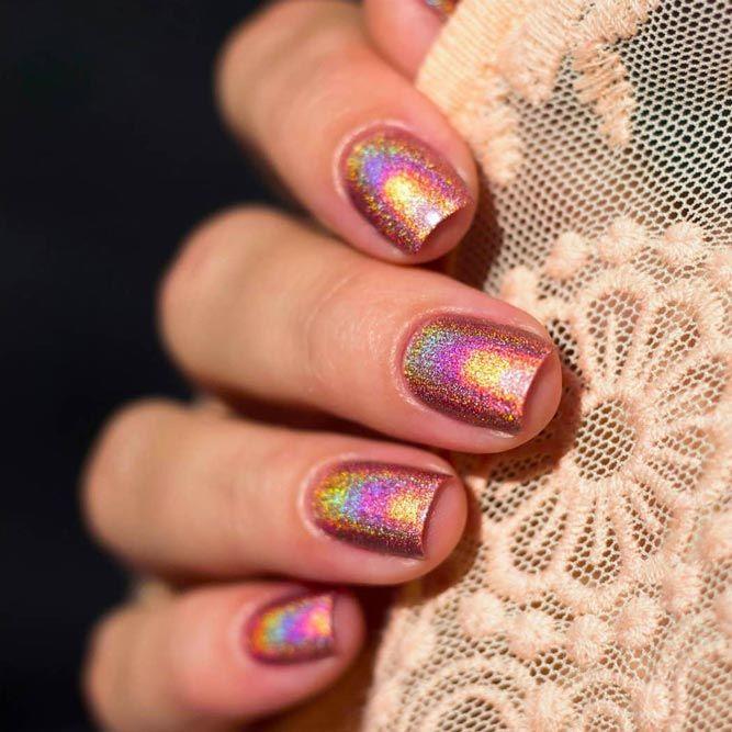 A-England Holographic Nail Polish