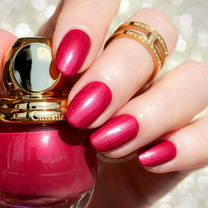 Classic Red Summer Nails Color picture3