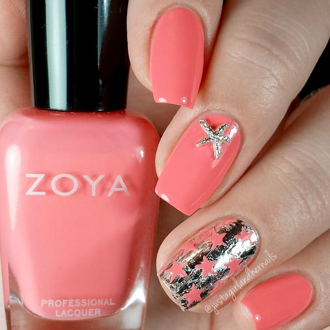 Coral Designs for Eye Catching Nails picture 3