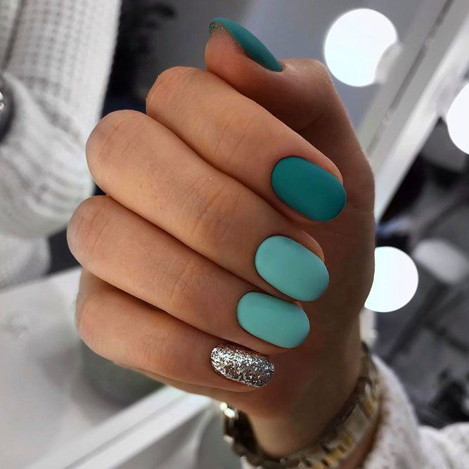 Emerald Full Hand Ombre