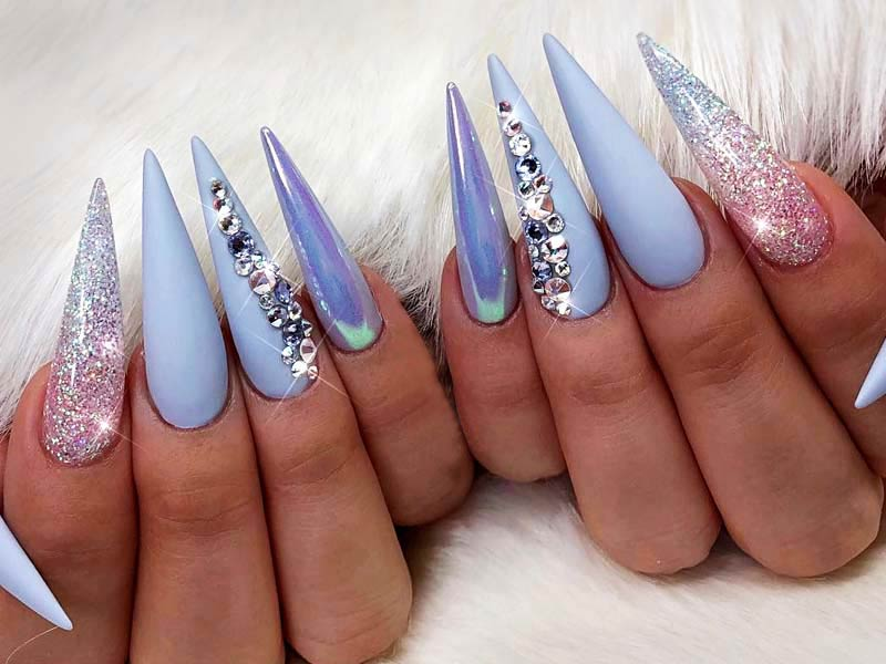 Inspiring Stiletto Nails To Win Over You