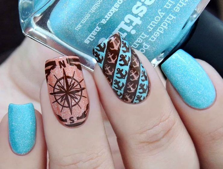 Anchor Nails Art Designs And Tutorials For Your Special And Trendy Look