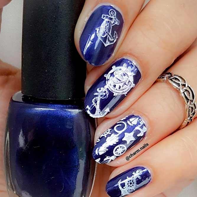 Amazing Stamping Nail Design