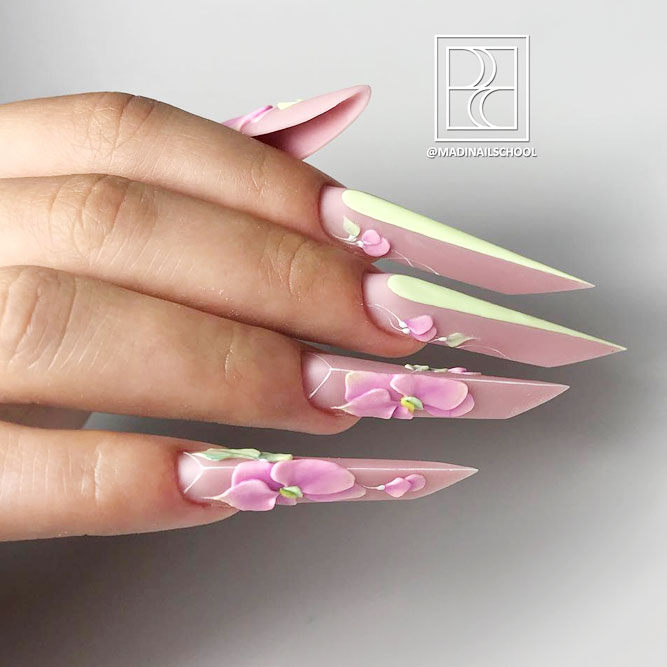 Tips and tricks For All The Nail Shapes | NailDesignsJournal.com