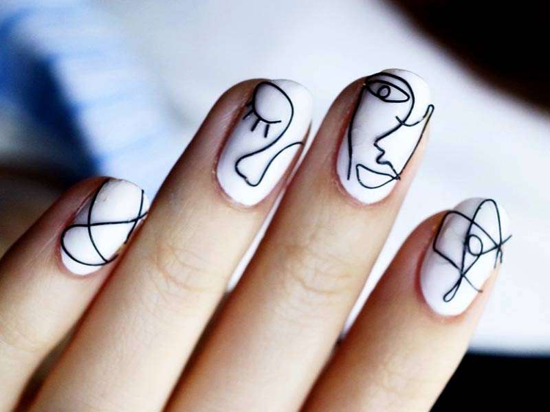 Unique Korean Fashion Nail Art Ideas For You
