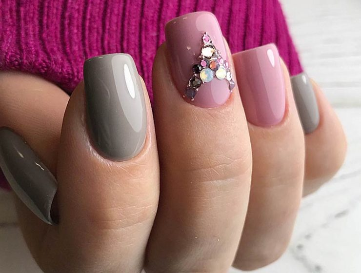 Taupe Color Nails Design Ideas Using This Gorgeous Shade