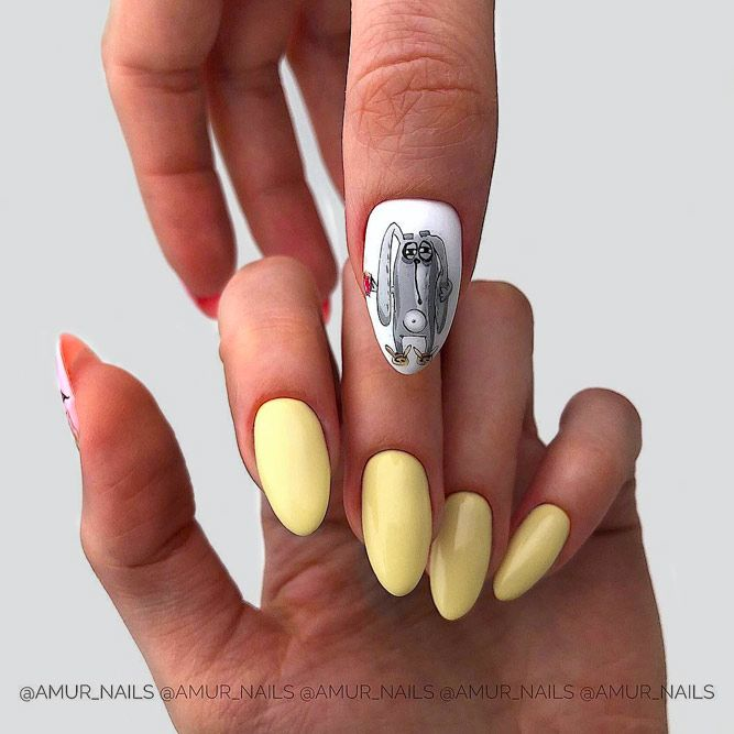Limelight - Suitable Yellow For Fall Manicure 2019