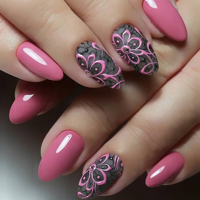Interesting Nail Design Ideas With 3D Patterns