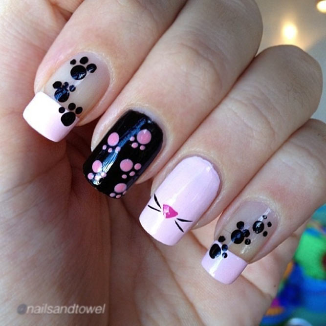 A Pink, Black, And White Shades Combo