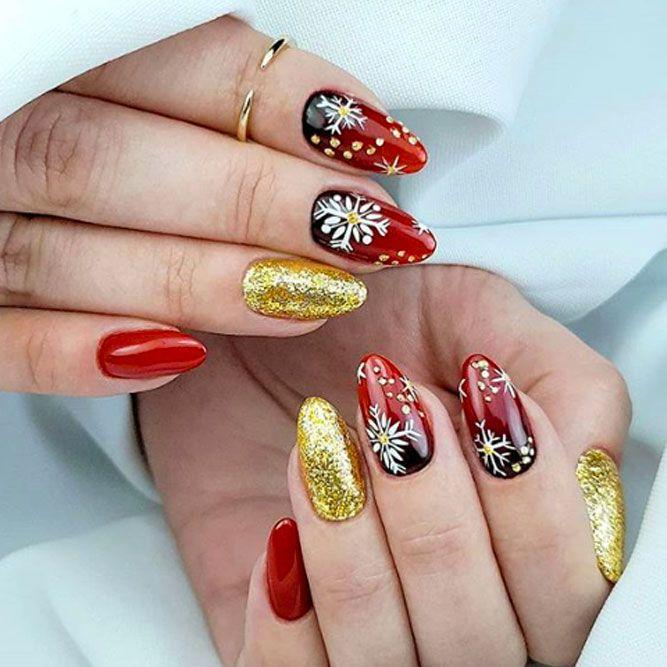 Beauty Christmas Holiday Nails