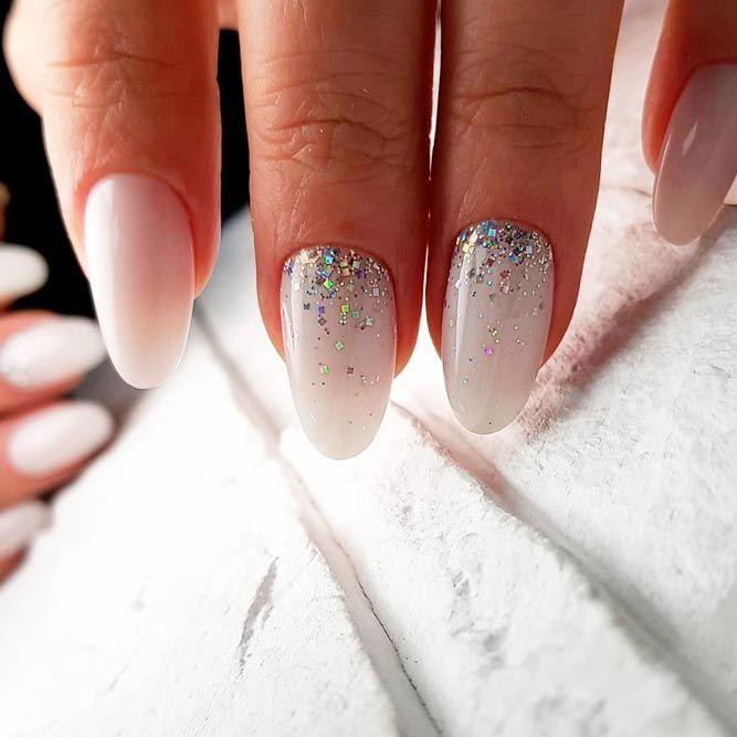 Simple Glitter Ombre #glitternails #easynailart